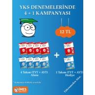 YKS DENEMELERİNDE 5 AL 4 ÖDE